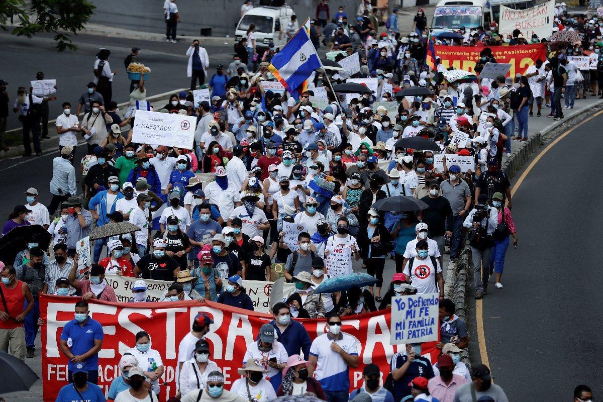 El Salvador protesto 2