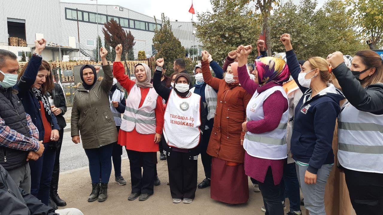 HDP'den Indomie Adkotürk işçilerini ziyaret 2
